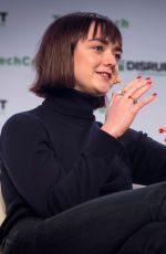 MAISIE WILLIAMS at Techcrunch Disrupt San Francisco 2019 10/03/2019