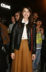 MARGARET QUALLEY at Celine Fashion Show at PFW in Paris 09/27/2019