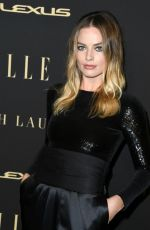 MARGOT ROBBIE at Elle Women in Hollywood Celebration in Los Angeles 10/14/2019