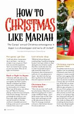MARIAH CAREY in Cosmopolitan Magazine, UK December 2019