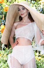 MEGAN PORMER at Veuve Clicquot Polo Classic at Will Rogers State Park in Los Angeles 10/05/2019