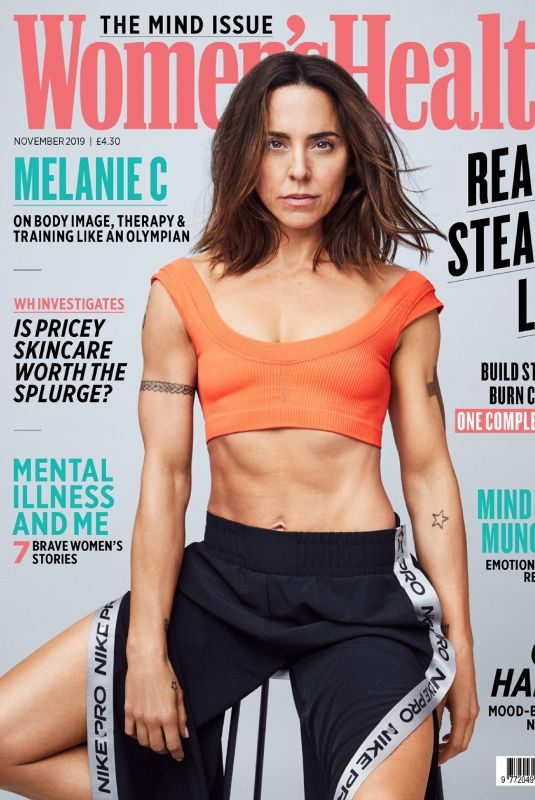 MELANIE CHISHOLM in Women's Health Magazine, UK November 2019