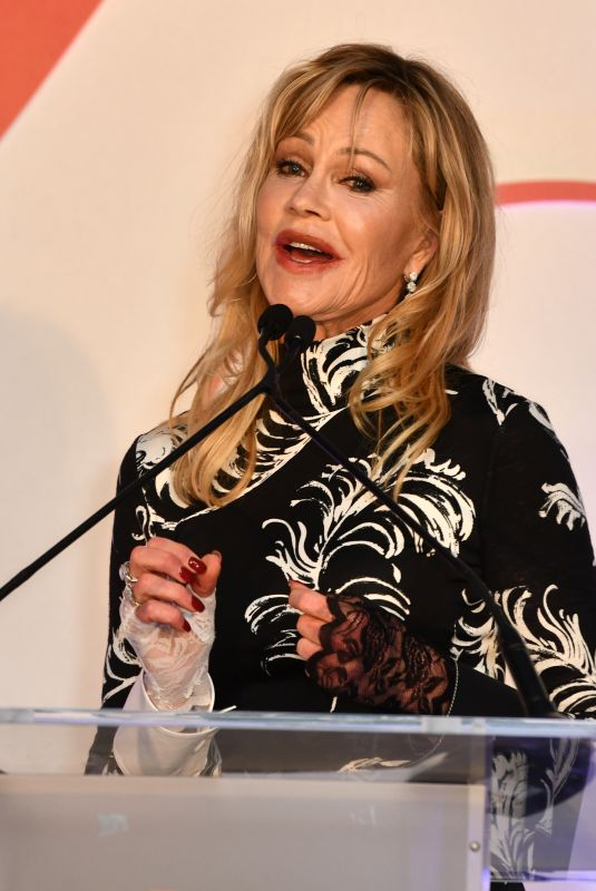 MELANIE GRIFFITH at Global Gift Gala in London 10/17/2019
