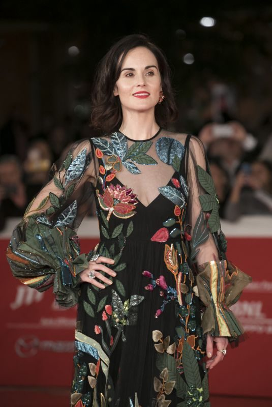 MICHELLE DOCKERY at Downton Abbey Premiere at 14th Rome Film Festival 10/19/2019