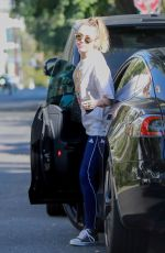 MILEY CYRUS Out and About in Los Angeles 10/24/2019