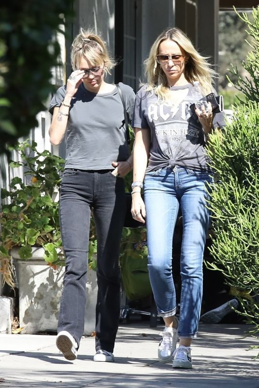 MILEY CYRUS Out for Breakfast in Toluca Lake 10/12/2019