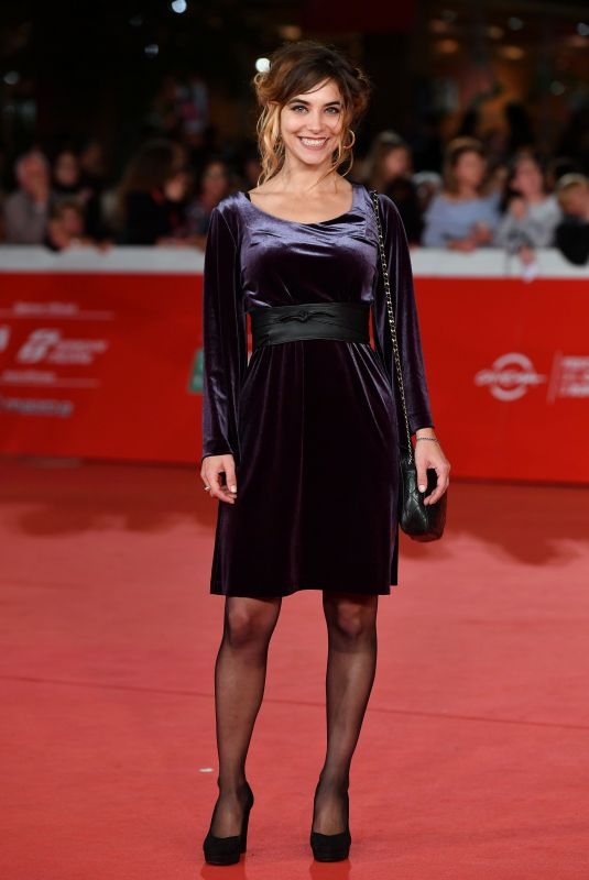 MILY CULTRERA at Il Ladro Di Giorni Premiere at 14th Rome Film Festival 10/20/2019