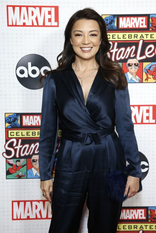 MING-NA WEN at ABC and Marvel Honor Stan Lee in New York 10/07/2019