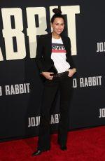 MINIE DRIVER at Jojo Rabbit Premiere in Los Angeles 10/15/2019