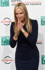 MIRA SORVINO at Drowning Photocall at 14th Rome Film Festival 10/20/2019