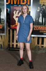 MOLLY QUINN at Zombieland: Double Tap Premiere in Westwood 10/10/2019