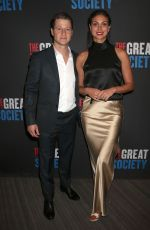 MORENA BACCARIN at The Great Society Ppening in New York 10/01/2019