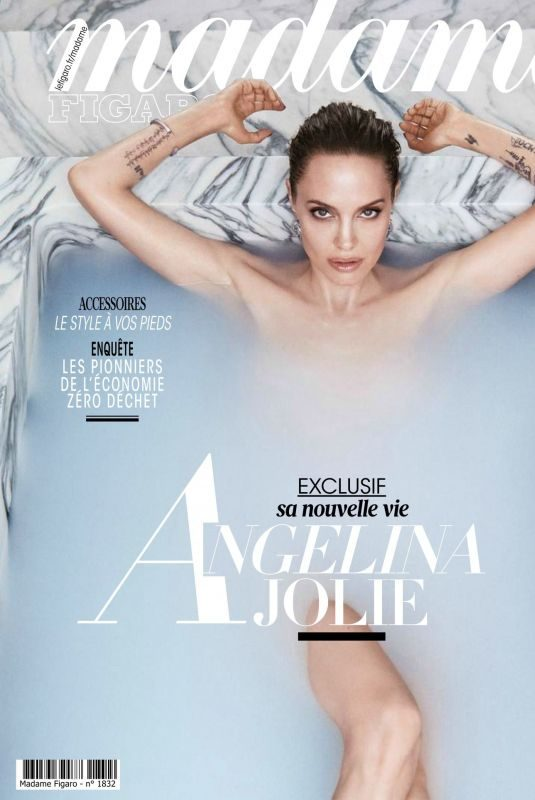 NAGELINA JOLIE in Madame Figaro, France October 2019