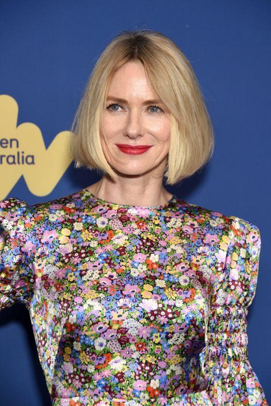 NAOMI WATTS at 8th Annual Australians in Film Awards Gala & Benefit Dinner in Century City 10/23/2019
