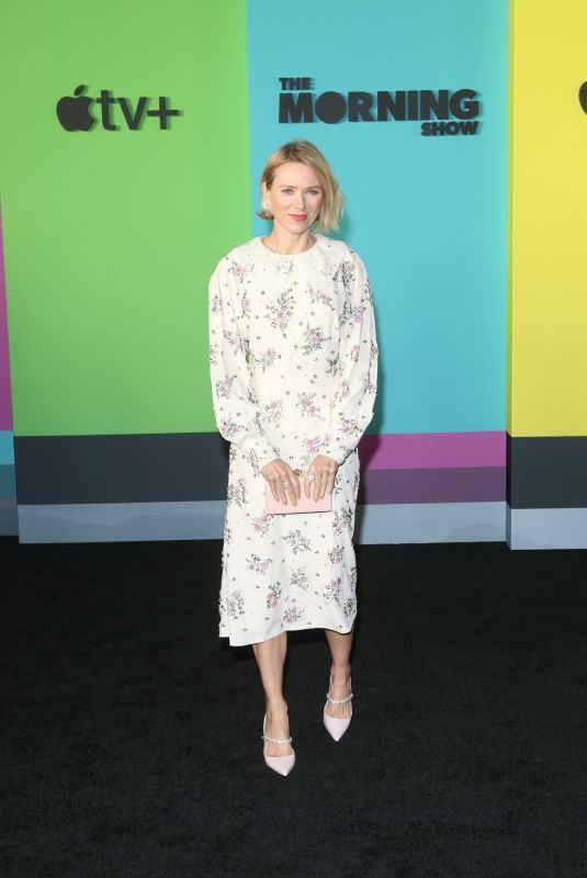 NAOMI WATTS at The Morning Show Premiere in New York 10/28/2019