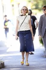 NAOMI WATTS Out for Lunch at Cafe Cluny in New York 09/27/2019