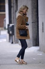 NAOMI WATTS Out with Her Dog in New York 10/01/2019