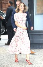 NATALIE PORTMAN Arrives at Build Series in New York 10/02/2019