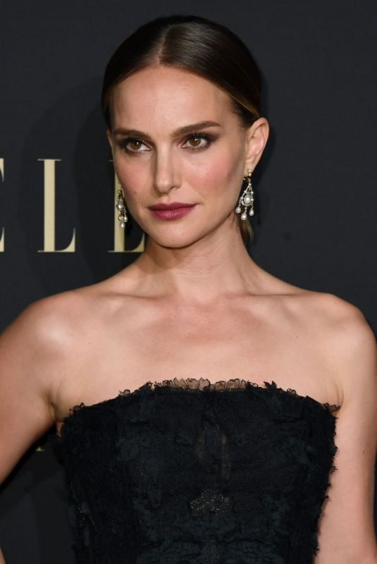 NATALIE PORTMAN at Elle Women in Hollywood Celebration in Los Angeles 10/14/2019