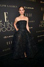 NATALIE PORTMAN at Elle Women in Hollywood Celebration in Los Angeles 10/14/2019