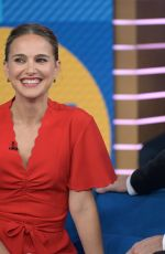 NATALIE PORTMAN at Good Morning America in New York 10/03/2019