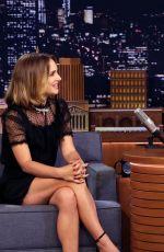 NATALIE PORTMAN at Tonight Show Starring Jimmy Fallon 10/02/2019