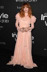 NATASHA LYONNE at 2019 Instyle Awards in Los Angeles 10/21/2019