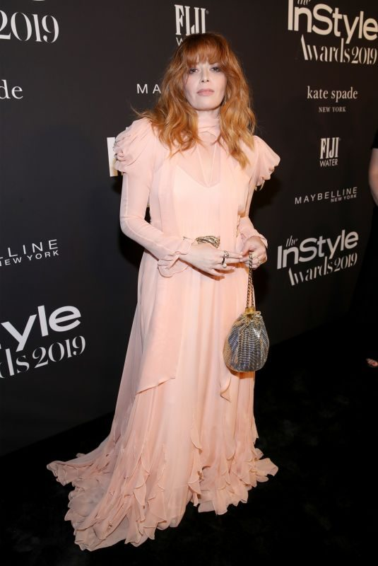 NATASHA LYONNE at 2019 Instyle Awards in Los Angeles 10/21/2019