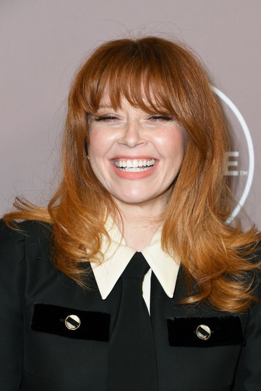 NATASHA LYONNE at Variety's 2019 Power of Women: Los Angeles Presented by Lifetime in Beverly Hills 10/11/2019