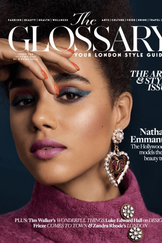 NATHALIE EMMANUEL for The Glossary x Chanel, November 2019