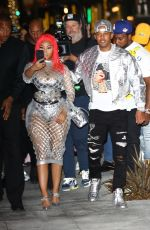 NICKI MINAJ Arrives to Her Fendi Collaboration Launch in Beverly Hills 10/15/2019