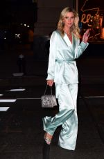 NICKY HILTON Arrives at Cfda Cocktail Party in New York 10/21/2019