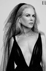 NICOLE KIDMAN in Elle Magazine - Women in Hollywood Issue, November 2019