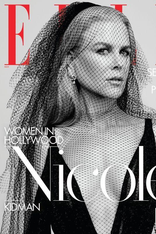 NICOLE KIDMAN in Elle Magazine – Women in Hollywood Issue, November 2019