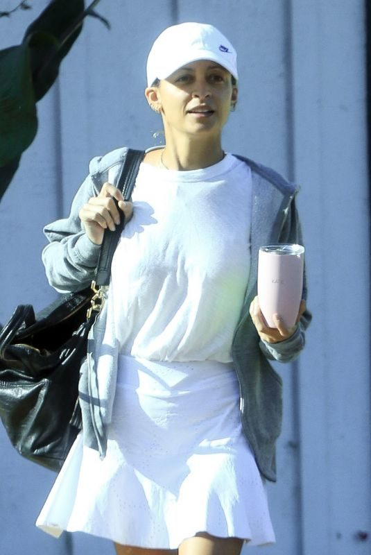 NICOLE RICHIE Out for Some Tennis at Brentwood Country Club 10/04/2019