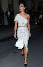 NICOLE SCHERZINGER Leaves Mayfair Hotel in London 10/09/2019