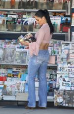 NIKKI BELLA in Denim Out ini Los Angeles 09/30/2019