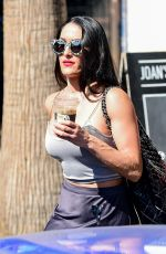 NIKKI BELLA Out and About in Los Angeles 10/11/2019