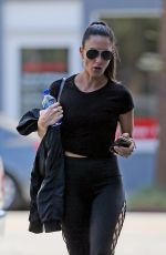 NIKKI BELLA Out for Lunch at Verve in West Hollywood 10/01/2019