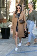 NINA DOBREV Leaves Nine Zero One in West Hollywood 10/25/2019