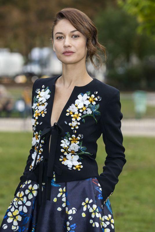 OLGA KURYLENKO at Le Defile L'Oreal Paris Show at Paris Fashion Week 09/28/2019