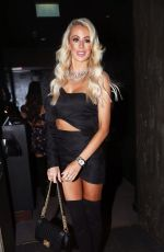 OLIVIA ATTWOOD at In the Style, the Power Edit Launch Party in London 10/21/2019