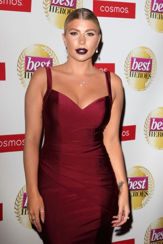 OLIVIA BUCKLAND at Best Heroes Awards 2019 in London 10/15/2019