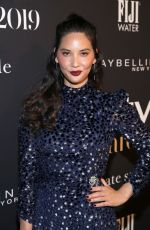 OLIVIA MUNN at 2019 Instyle Awards in Los Angeles 10/21/2019