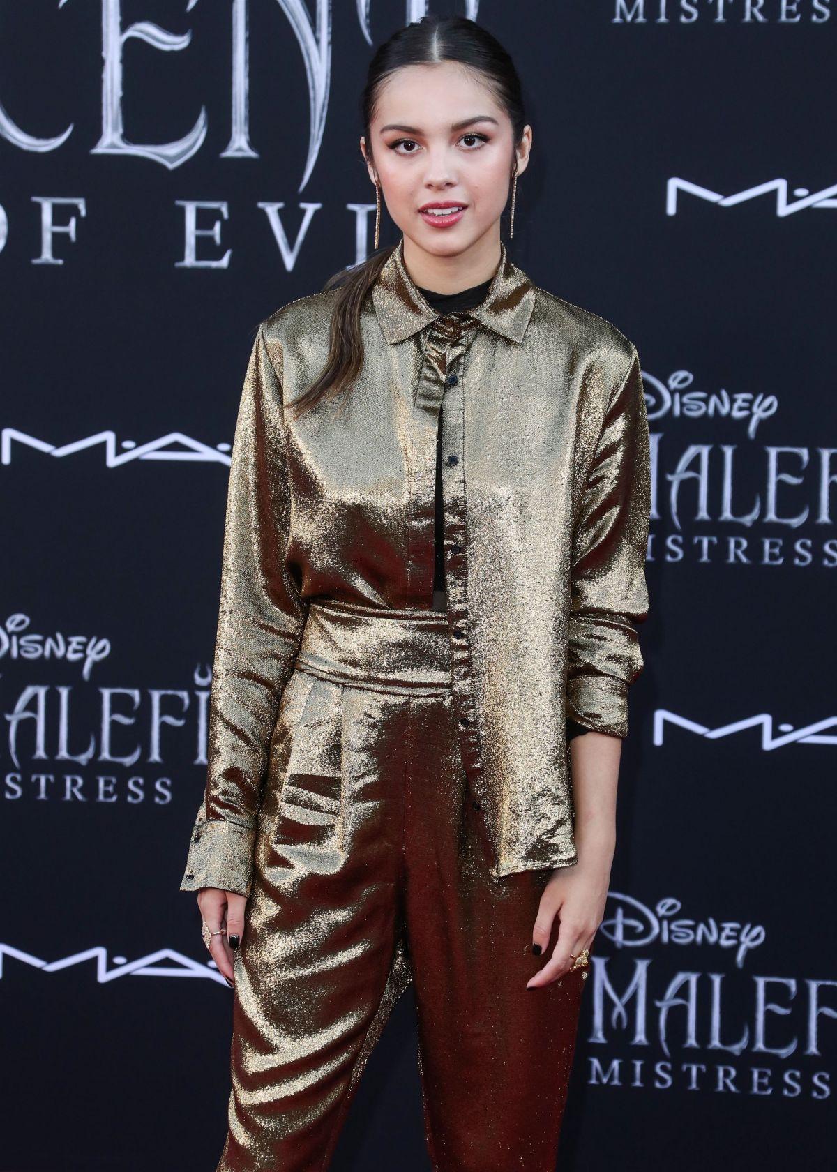 Olivia Rodrigo At Maleficent Mistress Of Evi Premiere In