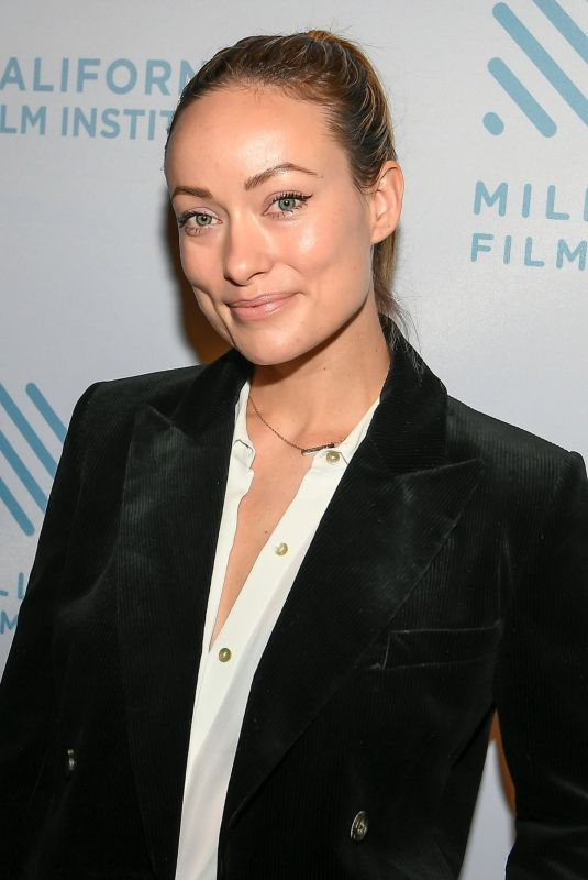 OLIVIA WILDE at 42nd Mill Valley Film Festival 10/04/2019