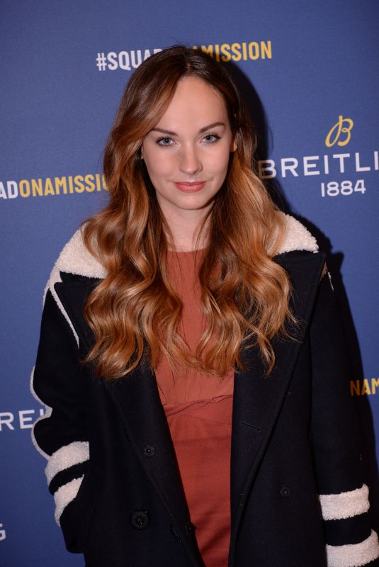 OPHELIE DUVILLARD at Breitling Boutique Opening in Paris 10/03/2019