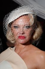 PAMELA ANDERSON at Andreas Kronthaler for Vivienne Westwood Show at Paris Fashion Week 09/28/2019