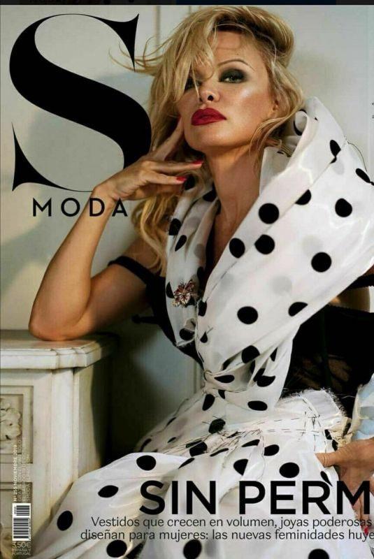 PAMELA ANDERSON for S Moda Magazine, November 2019