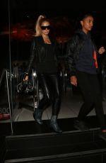 PARIS HILTON and JASMINE TOOKES at Katsuya in Hollywood 10/19/2019